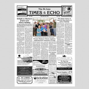 The St Ives Times & Echo E-Subscription